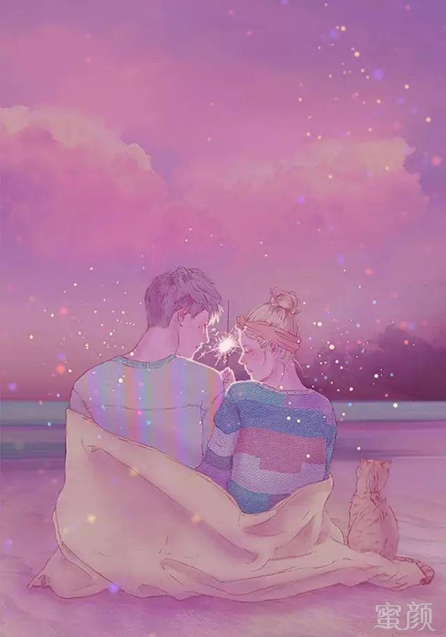 情侣相吻头像素材