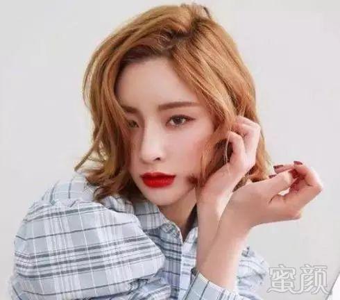 2018最新修颜瘦脸短发发型设计搭配!图片